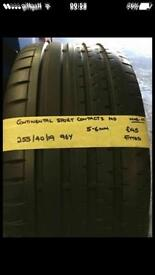255/40/19 96Y Continental Sport Contact2 MO Tyre