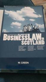 University Textbook: Business Law in Scotland