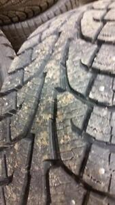 4 pneus d'hiver LT75/65/20 Hankook I-Pike RW11