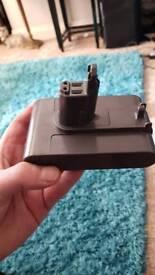 Dyson handheld vacuum battery