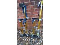 plastering stilts, brand new