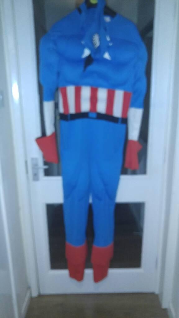 Captain America mans suit