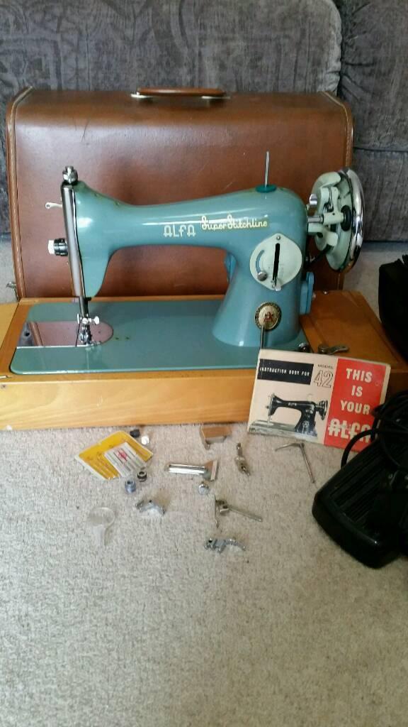 Vintage Alfa Sewing Machine In Cambridge Cambridgeshire Gumtree