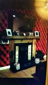 One of handmade fireplace