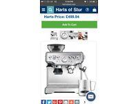 Sage by Heston coffee machine