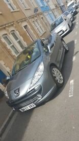 GREY PEGEOUT 207 CC GT CONVERTIBLE COUPE 1.6 DIESEL VERY LOW MILES 57478 £1,500 ONO