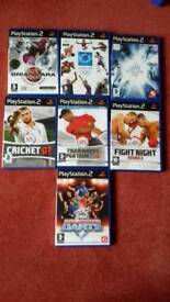 Sports themed Ps2 games