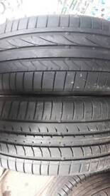 225 45 17 part worn tyres runflat used tires
