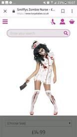 Zombie nurse Halloween outfit ladies medium