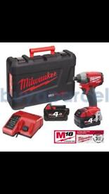 Milwaukee M18CID-402C M18 Fuel 18v Brushless Cordless impact driver
