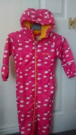 Girl's Regatta rain suit, age 3-4