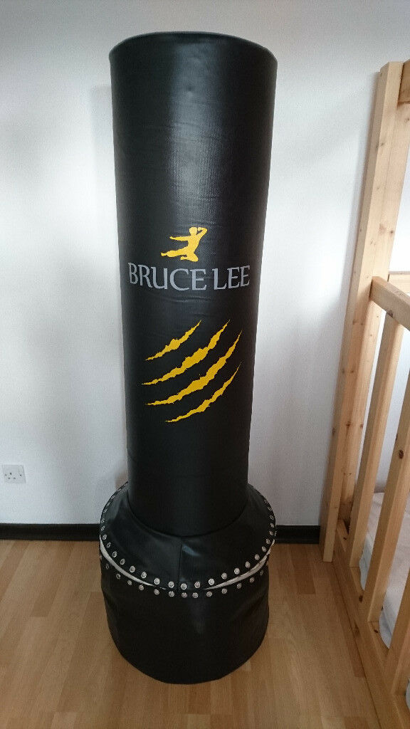 Bruce Lee Boxing Signature Free Standing Heavy Punch Bag Black