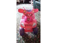 Minnie mouse quad