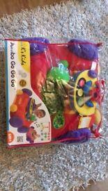 Kids car seat cushion toy jumbo go go go christmas xmas toy gift