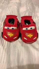 Lightning Mcqueen slippers size 7-8