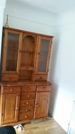 Wooden display cabinet collection only