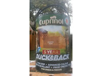 Cuprinol ducksback Autumn Gold 5L shed and fence
