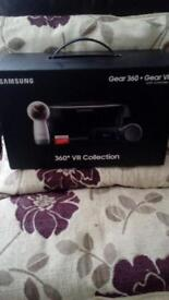 Samsung gear 360 and gear VR collection