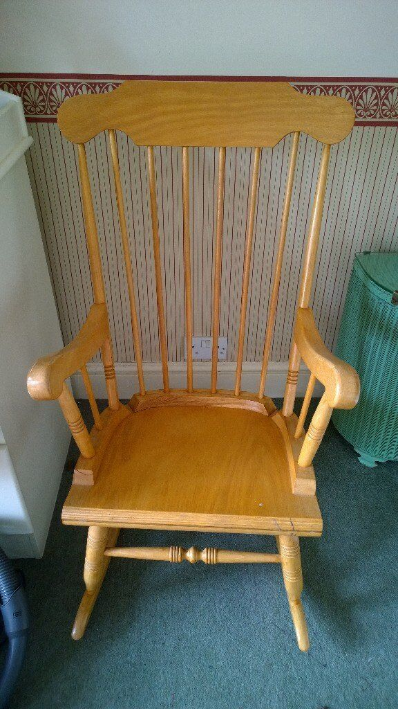 Rocking Chair, wood, good condition