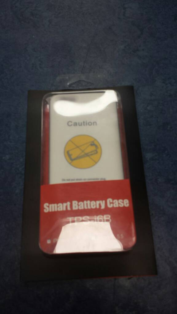 Iphone 6 smart battery case