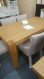 Alston dining table and 6 chairs