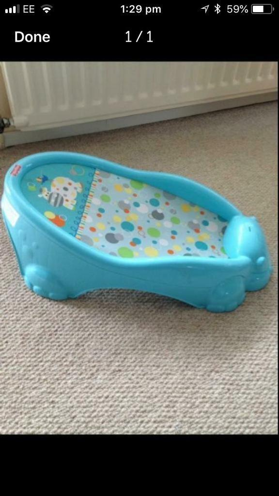 Fisher Price baby bath support seat. As new. | in Exmouth, Devon ...