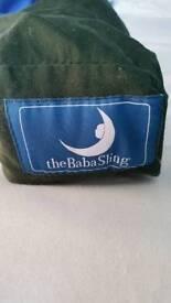 Baba sling green.