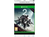 Destiny 2 Xbox one swap for destiny 2 on ps4