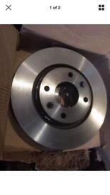 Brembo Front Vented Brake Disc 283mm For Peugeot 308 Cc 09-15 1.6 Hdi 1.6 16V