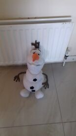Olaf large cuddly toy