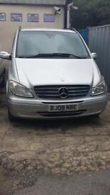 Mercedes Viano 3.0 Cdi Long 8 seater