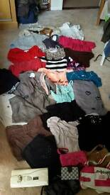 Huge job lot of women's clothes tops size 10 bottoms size 12