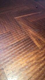 Reclaimed Oak parquet flooring for sale.