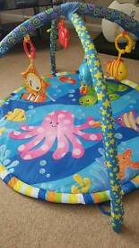 Under the sea play gym