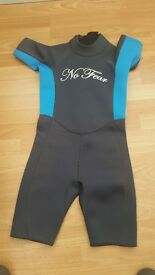 No Fear child's wetsuit Size-age 11/12 girls