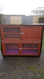 Large 2 tier rabbit cage