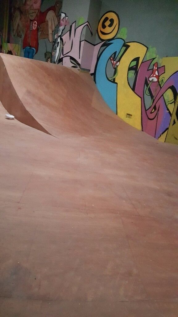 Indoor Skate Park, Sections easily dismantled