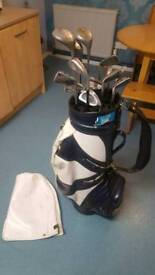 Swilken golf clubs and St Andrews Bag