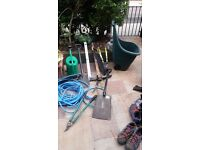 All sorts of gardening tools for sale