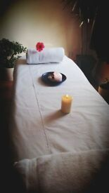 full body oil massage £40 per hour