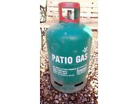 13kg calor gas propane bottle with gauge (nearly empty)