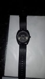 8c1950d2d3eb Police Watch - Leather Strap