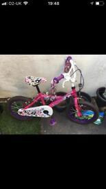 Girls bike 6-8 yrs