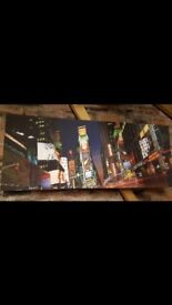 New York Times Square canvas
