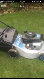 Honda masport petrol lawnmower