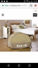 Koo-di pop-up travel cot