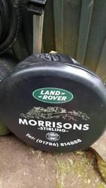 Free Landrover spare wheel cover