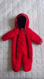 Babaluno Baby's Unisex Winter Snow Pram Suit - Brand New 0 - 3 maybe even 6 months