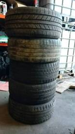 X5 235/40 R18 tyres all very good thread some nearly new