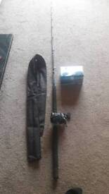 Shakespeare tidewater boat rod and reel NEW PRICE